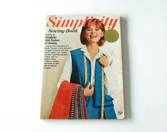60s simplicity sewing guide book - 1211232