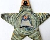 Handmade Arianrhod Reincarnation Karmic Goddess Celtic Avalon Mabinogian Ornament