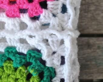 Infant Crochet Blanket - Spring