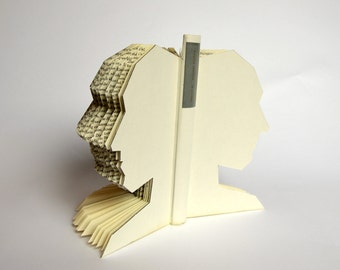 Book Art: Homo Faber - Book Sculpture