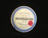 Vintage Powder Box 1920s Gossamer Powder Box Tetlows Powder Box Vanity Accessory FULL EXTREMELY RARE