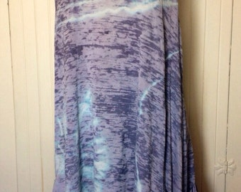 Tie Dye Tank Racer Back Burn out XL
