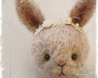 pattern Bunny Lotta 7 inch artist pattern epattern rabbit Instant Download stuffed animals