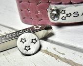 Metal Stamp SALE - Mini FUN Star Design Stamp 3mm - Mini Metal Design Stamp for Hand Stamped Jewelry - Design Punch ImpressArt