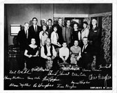 Signed Vintage Cast Photo...