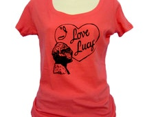 Anthropology Shirt - I love Lucy, Australopithecus afarensis - gift for her