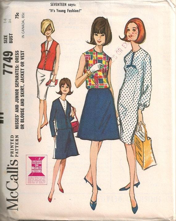 1960 S Blouse Dress 108