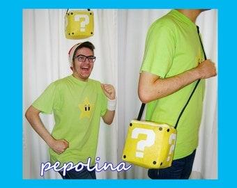 Super Mario Question Block Bag
