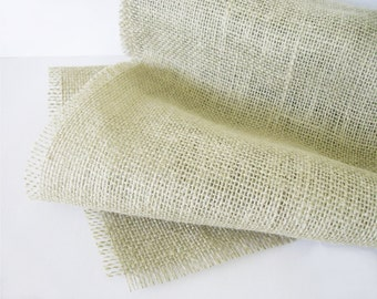 Natural Jute Burlap Table Runner 12 inches X 60 inches 5 Foot Table Decor Home Rustic Wedding Table Runner Sand Tan