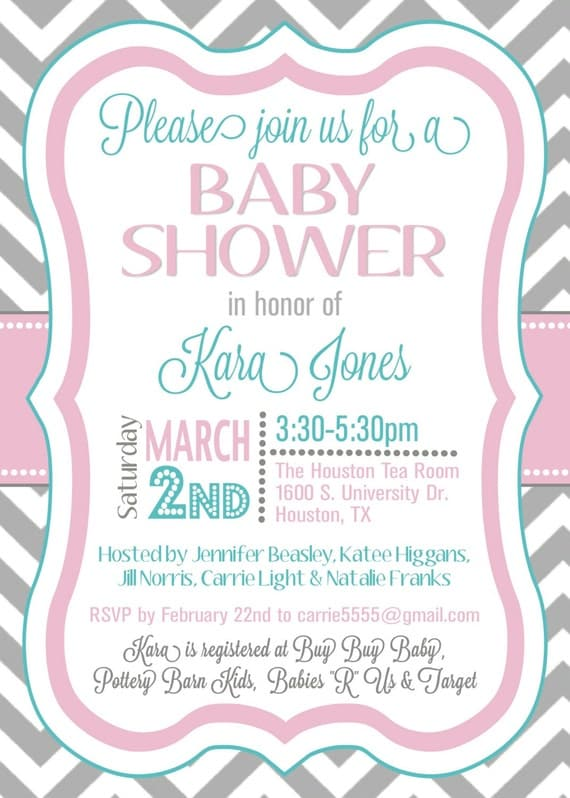 Free Electronic Baby Shower Invitations Templates is good invitations example