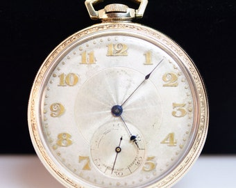 Antique Mens Waltham Pocket Watch
