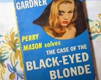 The Case of The Black-Eyed Blonde, 1951 Pocket book