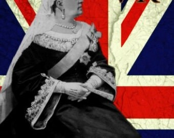 "Original Limited Edition Queen Victoria ""Rule Britannia Series"" 8x10 Print"