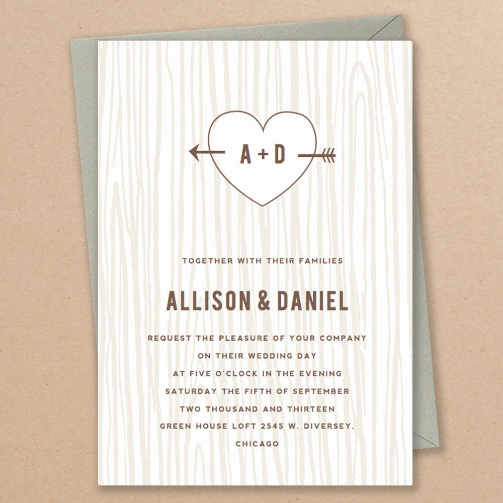 American Wedding Invites was perfect invitation example