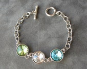 Mother's Birthstone Bracelet, Jewelry for Mom, Grandmother's Bracelet, Mom Jewelry, Mother's Day Jewelry Gift