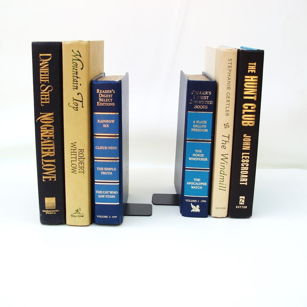 Recycle Books Book Ends Handmade Bookends Old Books Decoration