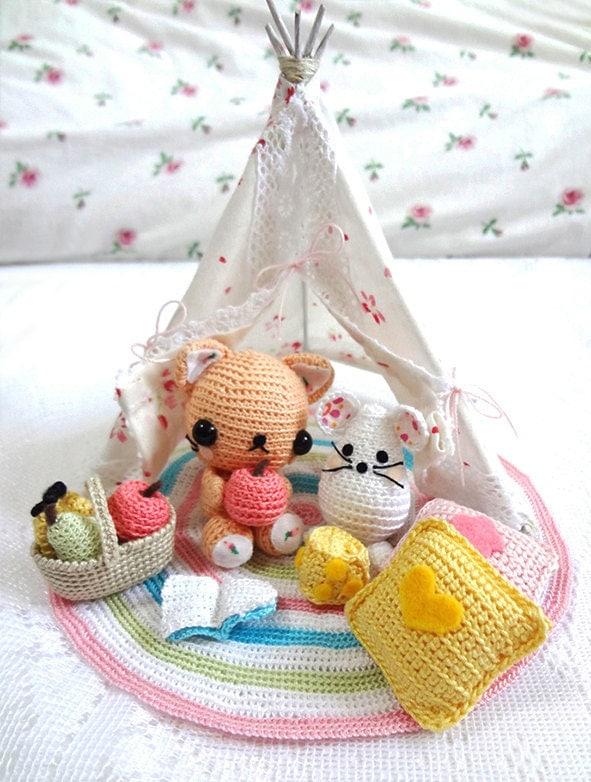 Cat Amigurumi Pattern Amigurumi Crochet Pattern Crochet Cat