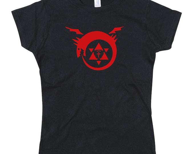 Ladies FMA Full Metal Alchemist Homunculus Tribute Tshirt