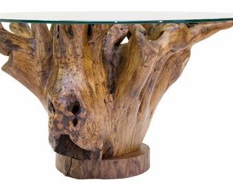 tree stump coffee table – Etsy