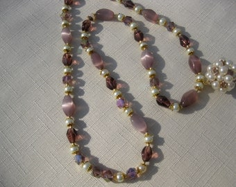 Beautiful Beaded Bauble Necklace