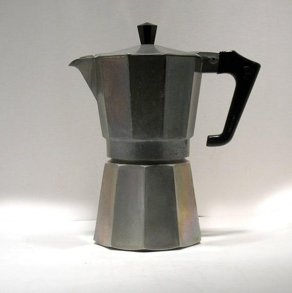 Vintage Espresso Maker Moka Pot Espresso Pot by OnlyCoolStuff