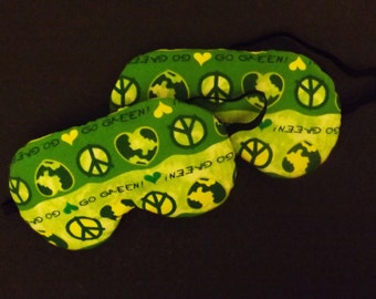 Set of 2 Recycle Sleep Masks - Comes As Shown