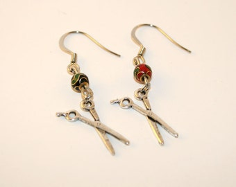 Teeny Scissor Earrings