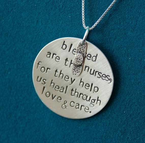 Blessed are the nurses....