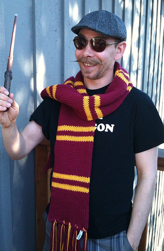 Hogwarts Gryffindor Scarf - The Later Years
