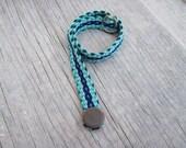 Woven Gift Bracelet, Blue Bracelet, Small Bracelet, OCEAN STAR