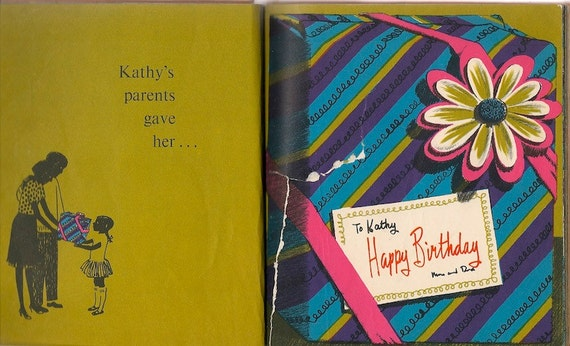 VINTAGE KIDS BOOK Birthday Presents