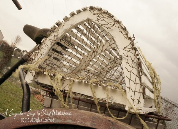 Lobster trap wedding card holder beach by myprimitiveboutique - Trap decor ...