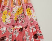 shabby chic girls flea market fancy boho skirt  .... on sale from gock's frocks .. size 5/6