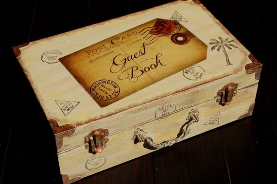 Items Similar To WEDDING GUESTBOOK Alternative With 100