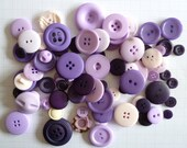 PURPLE buttons x100g