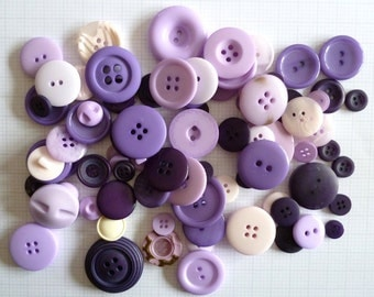 PURPLE buttons x100g