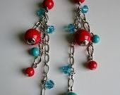Dangle Chain Drop Earrings