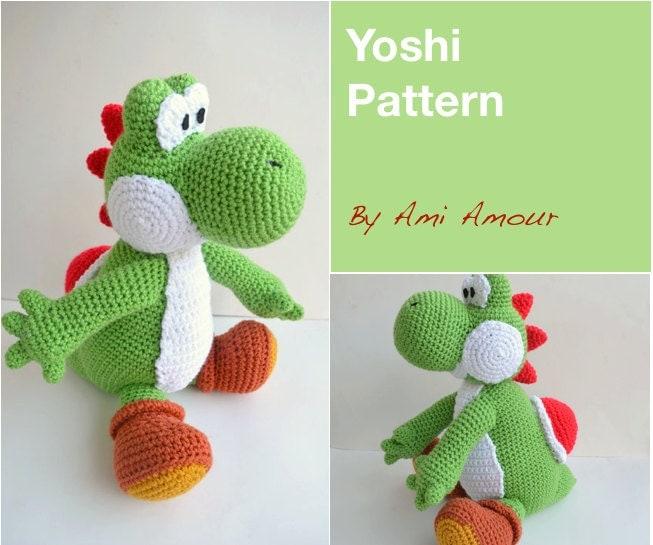 Amigurumi Yoshi Patron Gratuit : Yoshi Pattern Amigurumi Crochet PDF