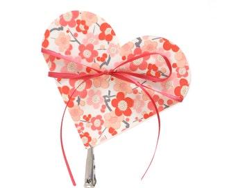 Digital heart shaped book instructions (PDF), DIY book, Valentine card, pop up book, origami fold book