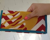 Primary Chevron Jelyfish No.1 Clutch Wallet