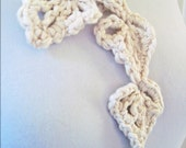 Cloud Heart Leaf Scarf