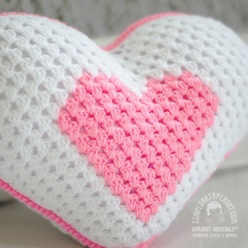 Heart Pillow / Ring Bearer Crochet Pattern 2 by ...