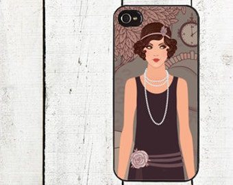 iphone 6 case Roaring 20's Flapper Phone Case - for iPhone 4,4s or iPhone 5