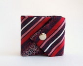 Reserved for Jess: Red Blue Made to Order Billfold Wallet