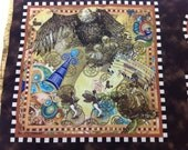 Quilting Treasures Fabric Victorian Dream Steampunk Panels 24 inches