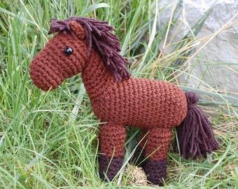 Sweet Little Horse Crochet Pattern PDF