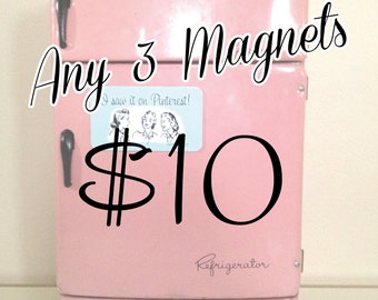 Any 3 Magnets Deal. Great gift item.