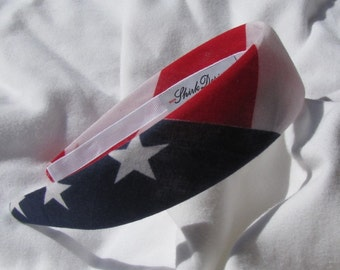 American Flag Headband Hair Band