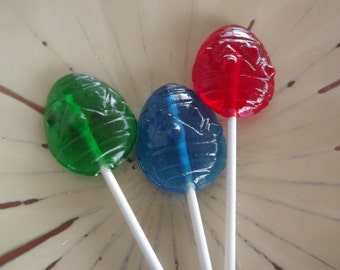 12 Easter Egg  Lollipop Sucker Party Candy