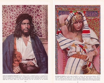Exotic Arabia, 27 vintage images from a 1930's book